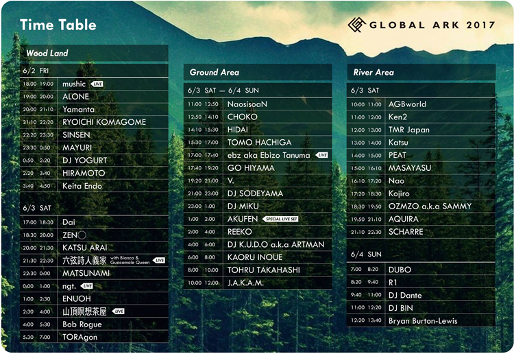 GLOBAL-ARK-2017-Time-Table